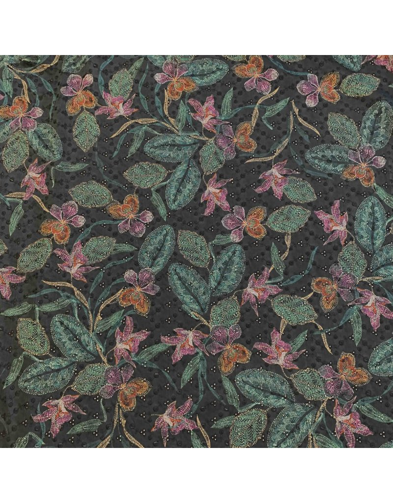 Cotton Cambric Embroidered 3035