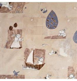 Popeline de coton design enfant 2895