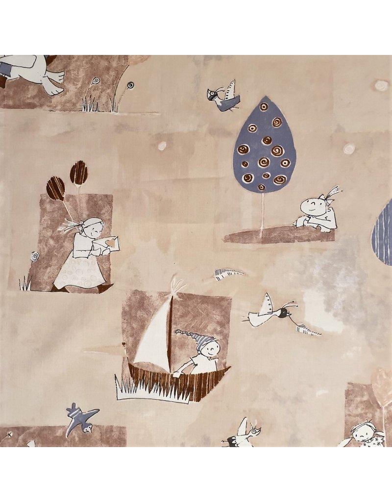 Cotton Poplin children's design 2895