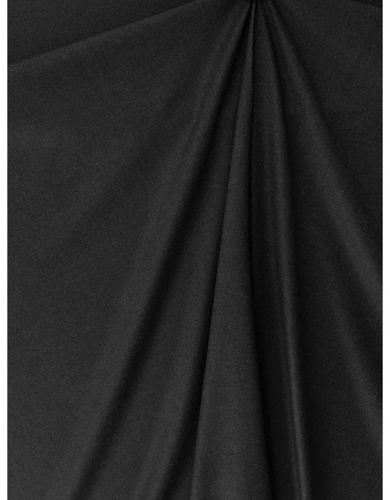 Soft Bamboe Gabardine Stretch BC28 - zwart
