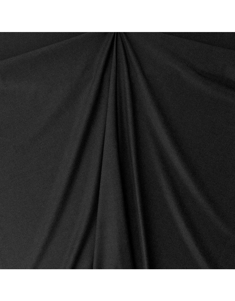 Weicher Bambus Gabardine Stretch BC28 - schwarz