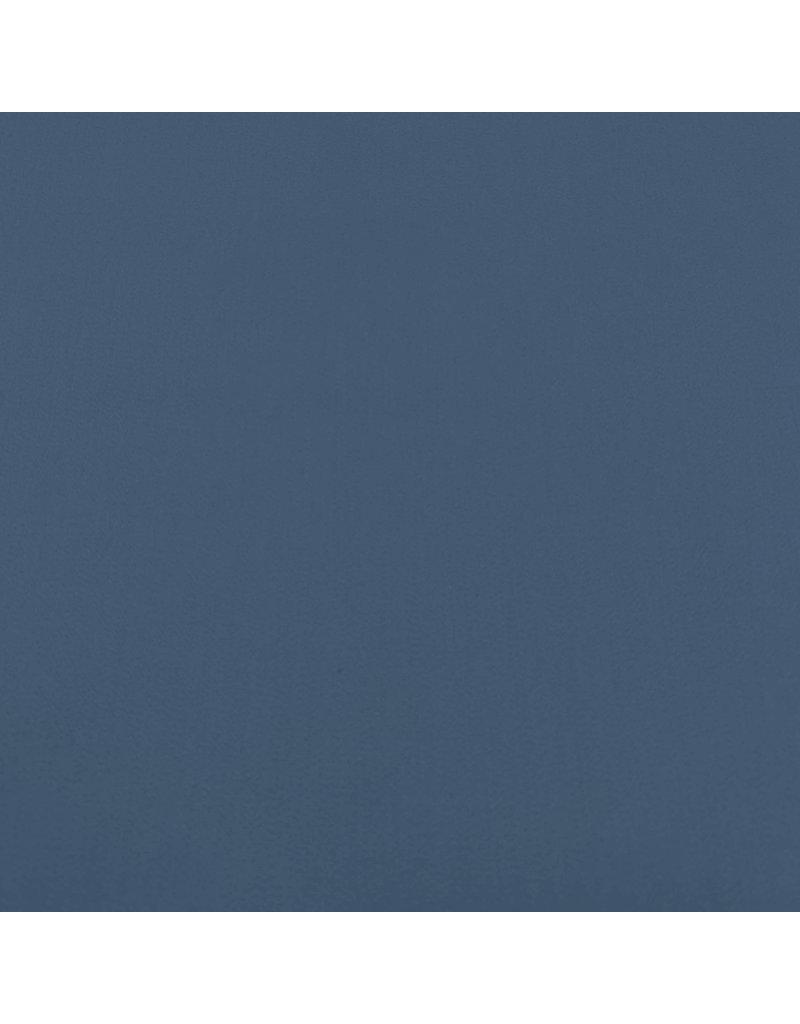 Satijnkatoen Comfort Stretch SK28 - Staal blauw