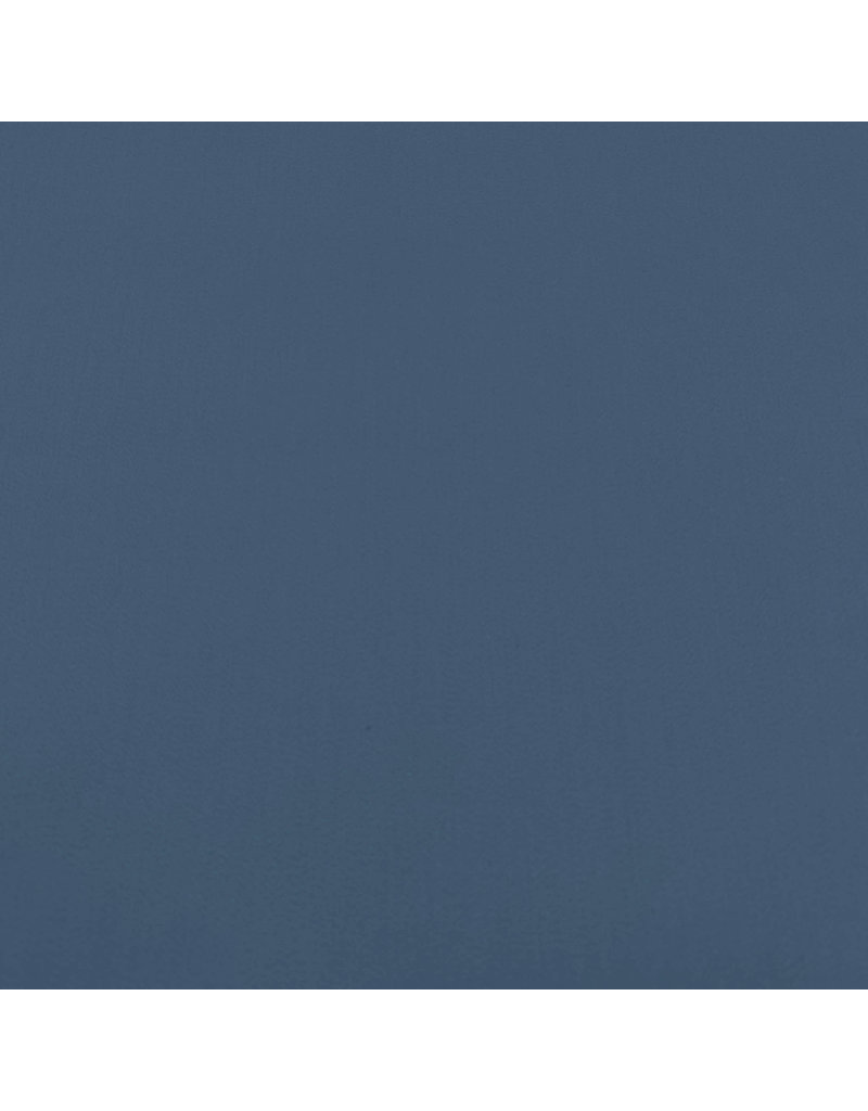 Satin Baumwolle Comfort Stretch SK28 - Stahlblau