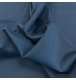 Satin cotton Comfort Stretch SK28 - Steel blue