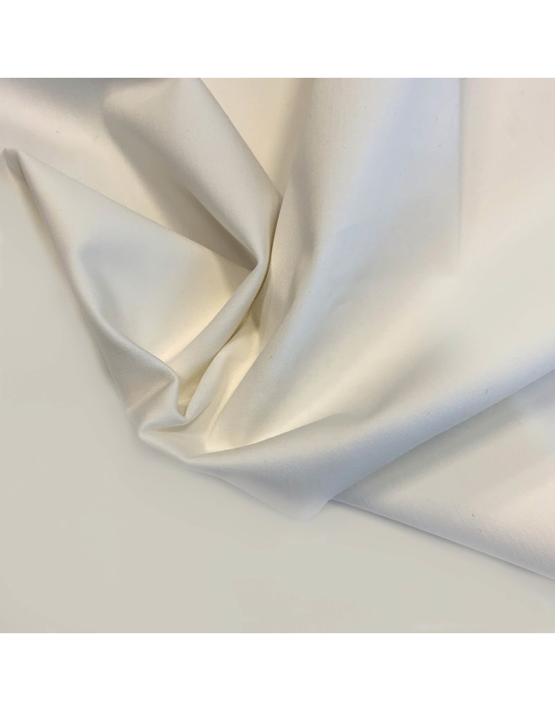 Satin Cotton Comfort Stretch SK01 - Creme