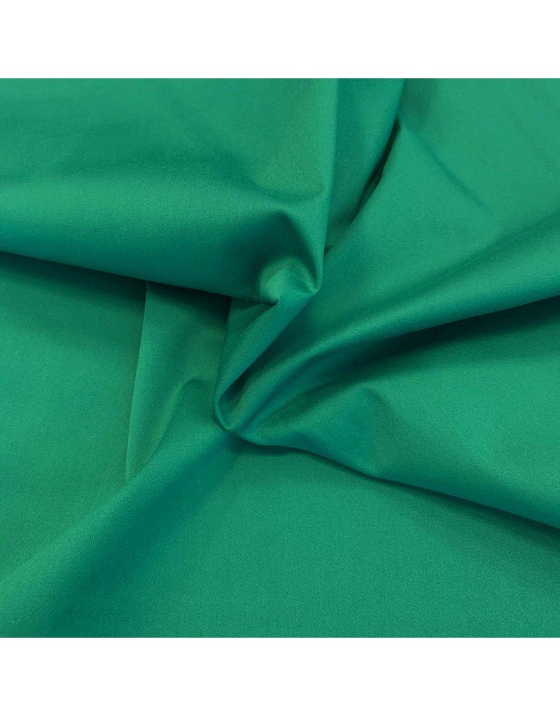 Satijnkatoen Comfort Stretch SK02 - smaragd groen