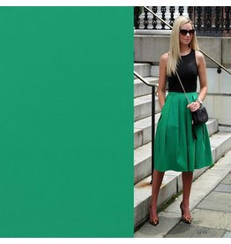 Coton satiné Comfort Stretch SK02 - vert émeraude