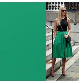 Satin cotton Comfort Stretch SK02 - emerald green