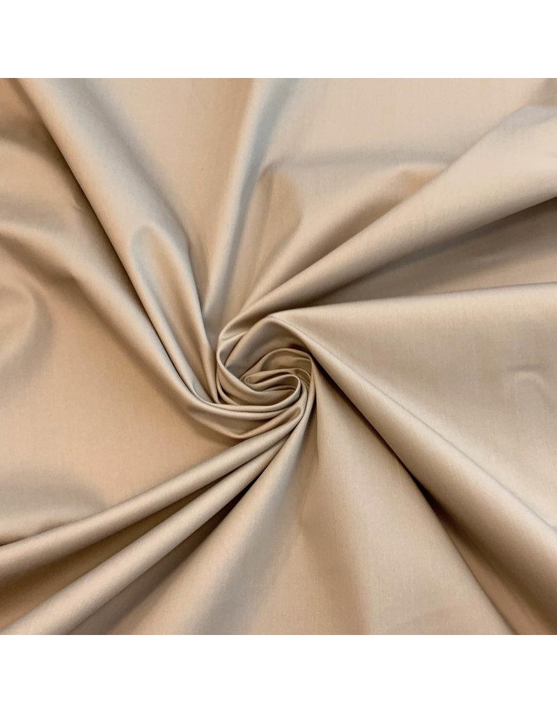 Satin cotton Comfort Stretch SK04 - Beige