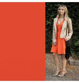 Satin Cotton Comfort Stretch SK06 - orange !NOUVEAU!
