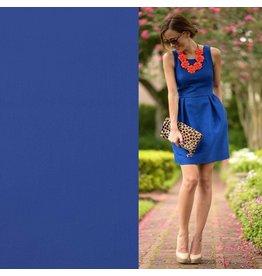 Stretch Comfort Satin Coton SK09 - bleu cobalt