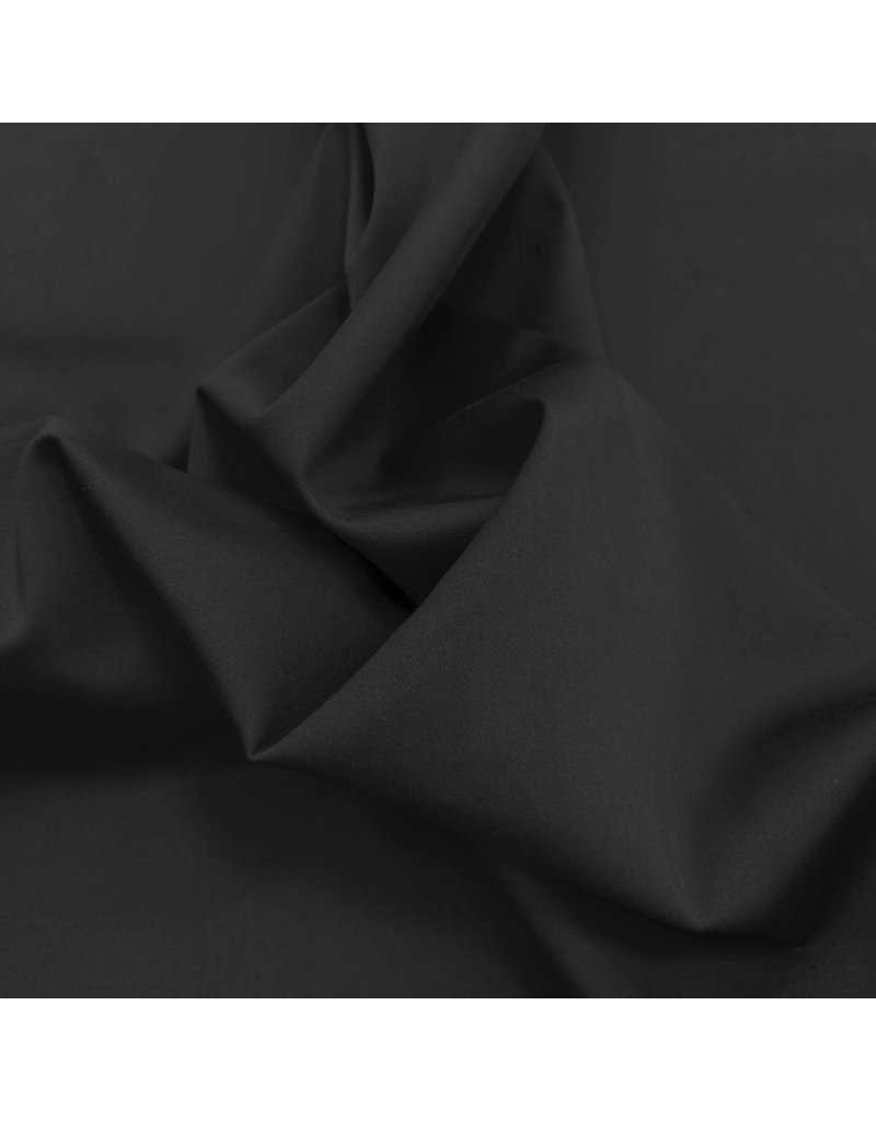 Satin Cotton Comfort Stretch SK11 - black
