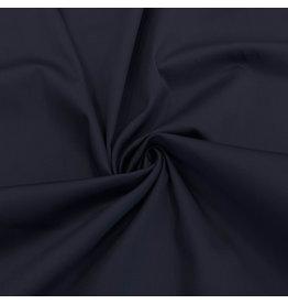 Coton satiné Comfort Stretch SK12 - bleu nuit