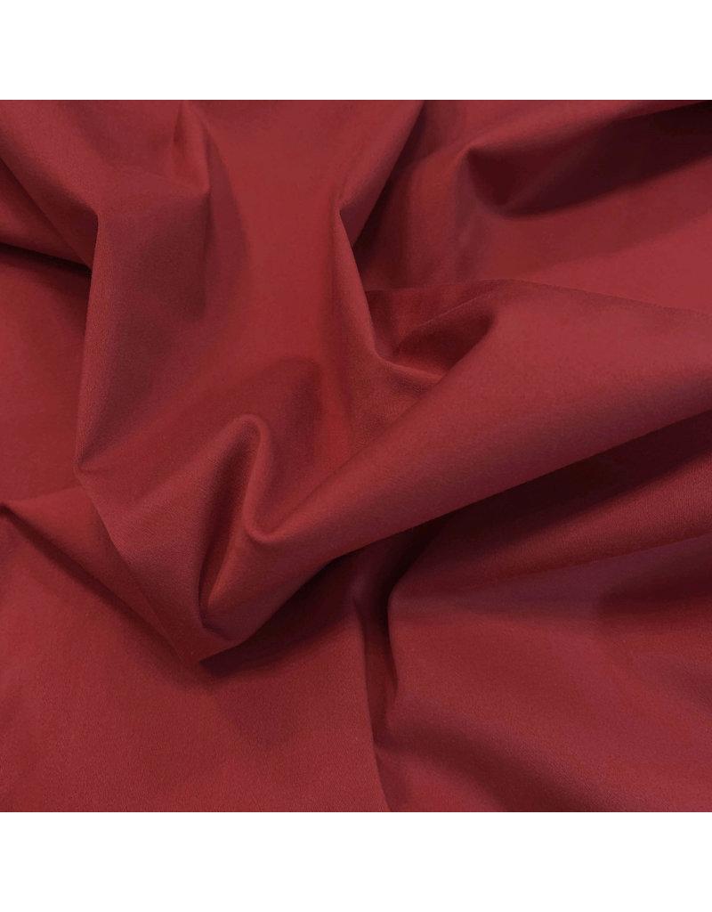 Satin Cotton Comfort Stretch SK14 - dunkelrot