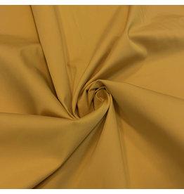 Coton satiné Comfort Stretch SK15 - jaune ocre