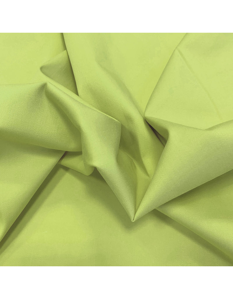 Satin cotton Comfort Stretch SK17 - lime green