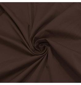 Coton satiné Comfort Stretch SK22 - brun foncé