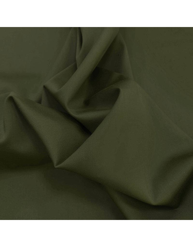 Satijnkatoen Comfort Stretch SK27 - mosgroen