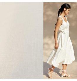 Stretch Linen L01 - off white