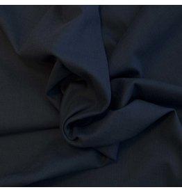 Stretch Linen L04 - dark blue