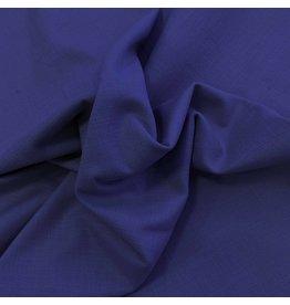 Stretch Linen L05 - cobalt blue