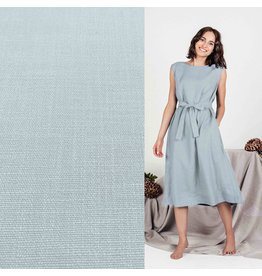 Stretch Linen L08 - soft blue