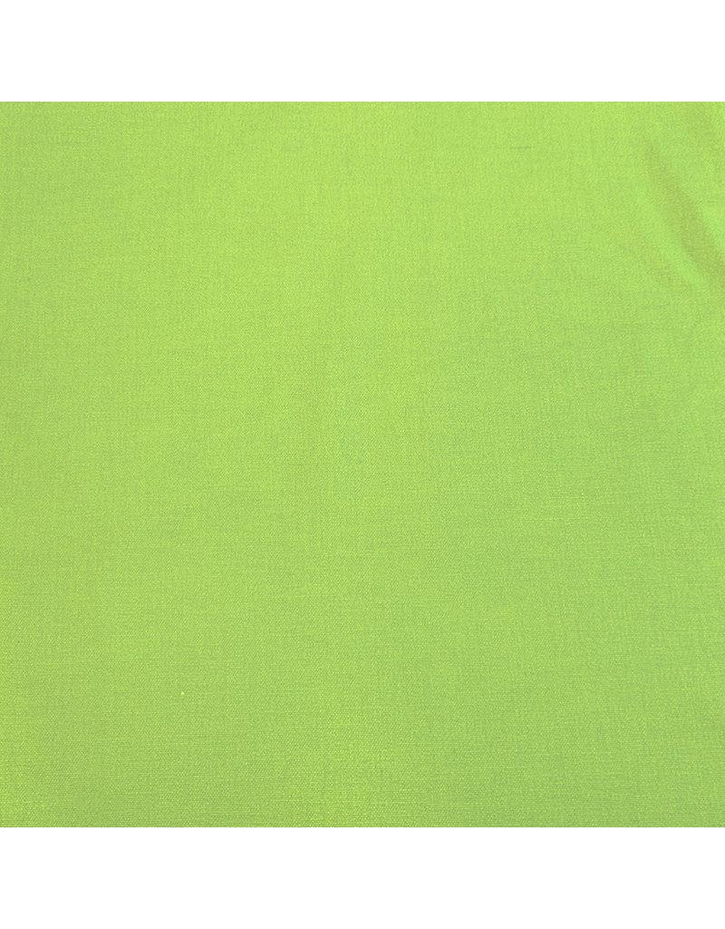 Stretch Leinen L09 - Limonengrün