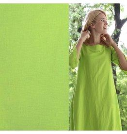 Stretch Linen L09 - Lime Green
