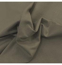 Stretch Linen L10 - green / brown