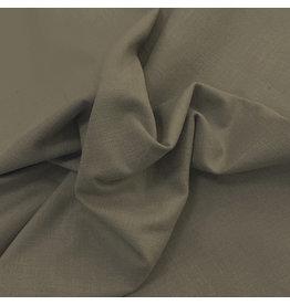 Stretch Linnen L10 - groen / bruin