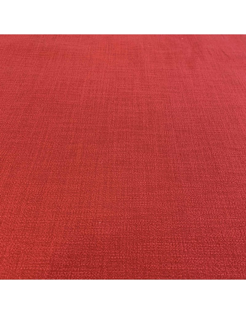 Stretch Linnen L15 - rood