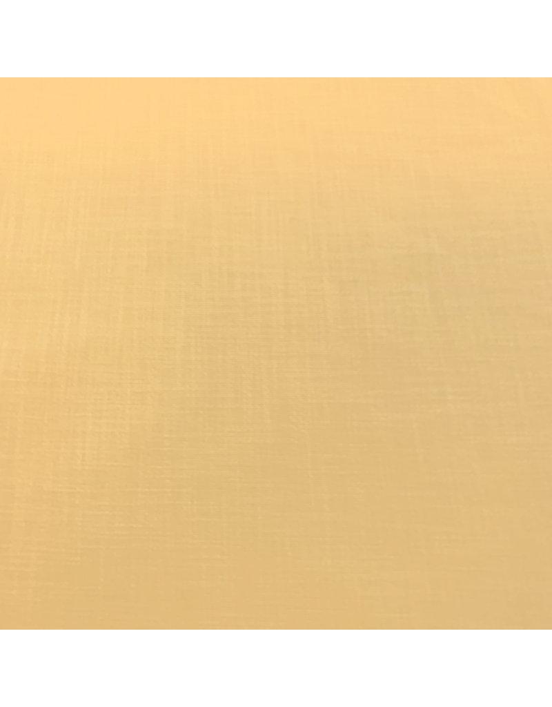 Stretch Leinen L17 - zartes Gelb