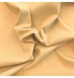 Stretch Linnen L17 - zacht geel
