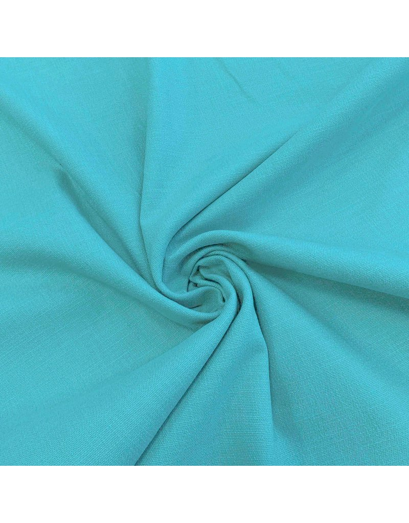 Stretch Linnen L20 - turquoise