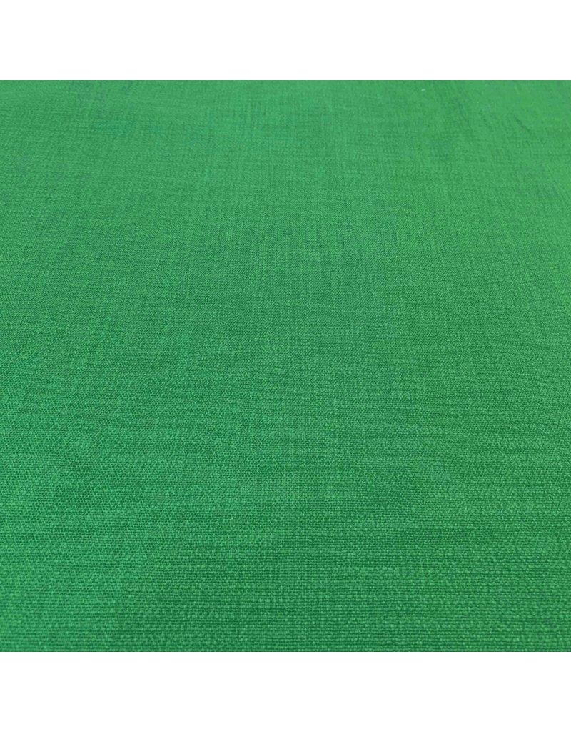 Stretch Linnen L23 - smaragd groen
