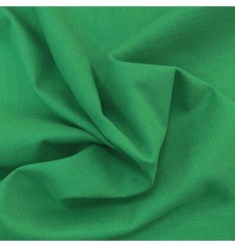 Stretch Linen L23 - emerald green