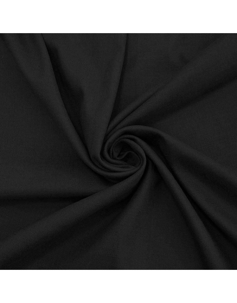Stretch Linnen L25 - zwart