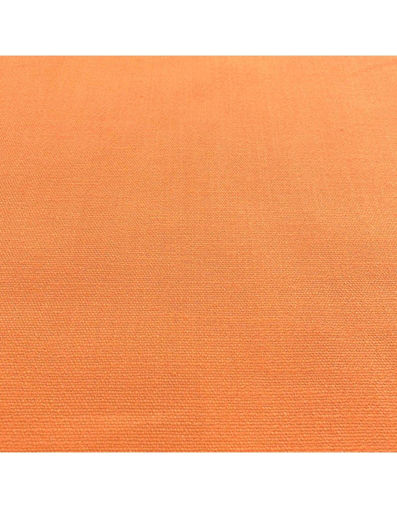 Stretch Linnen L29 sinasappel