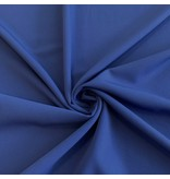 Gabardine Terlenka Stretch T01 - kobalt blauw