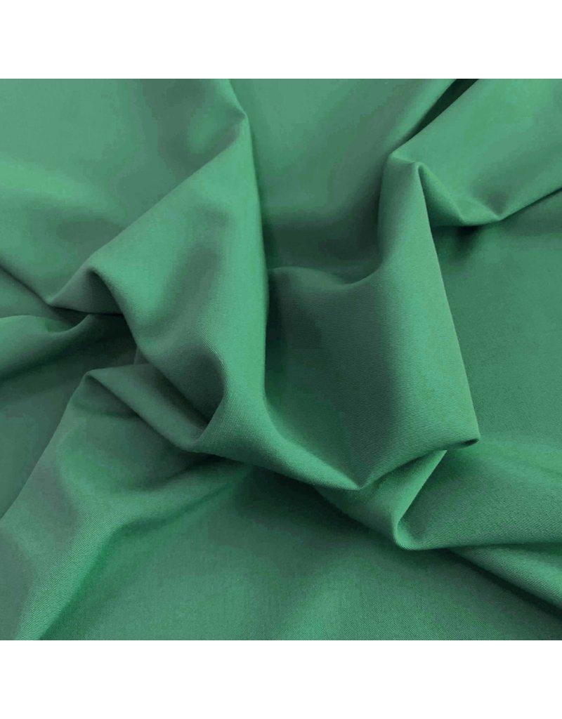 Gabardine Terlenka Stretch T12 - smaragdgrün