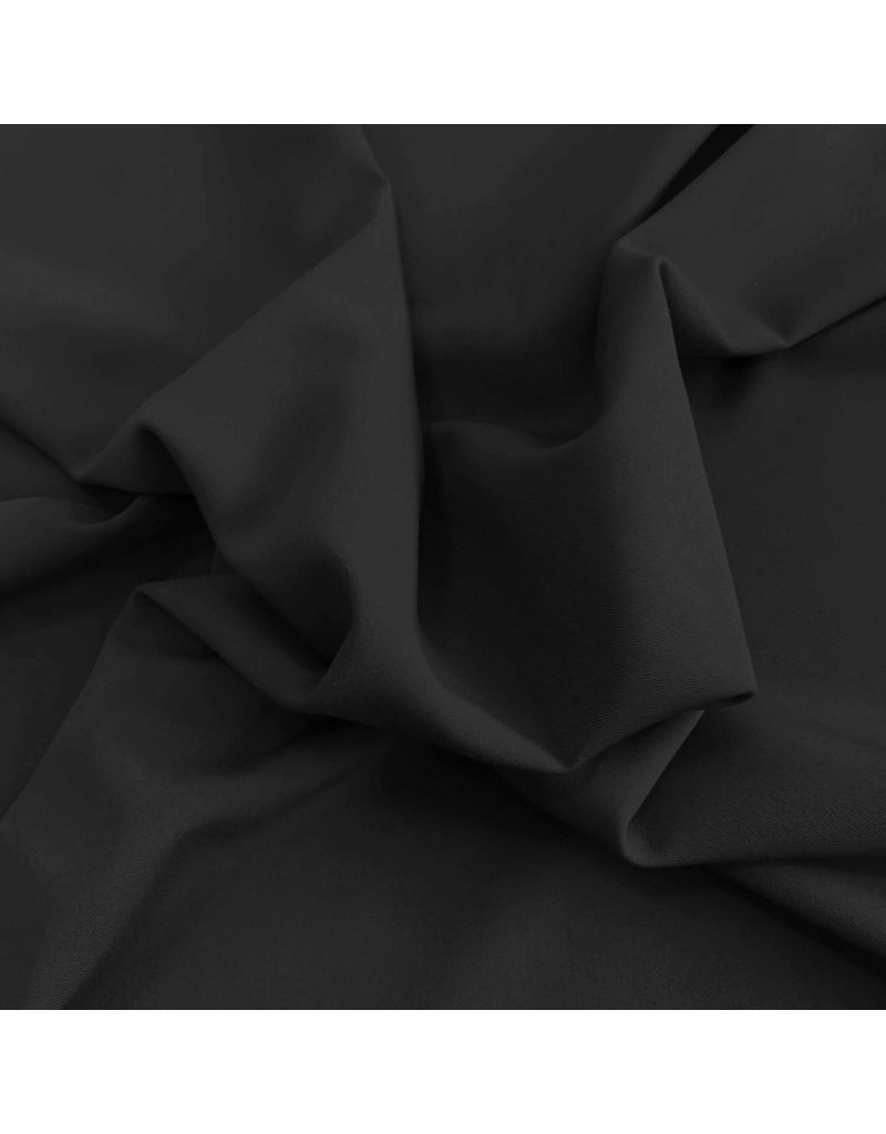Gabardine Terlenka Stretch T17 - zwart