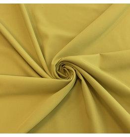 Gabardine Terlenka Stretch T42 - jaune moutarde
