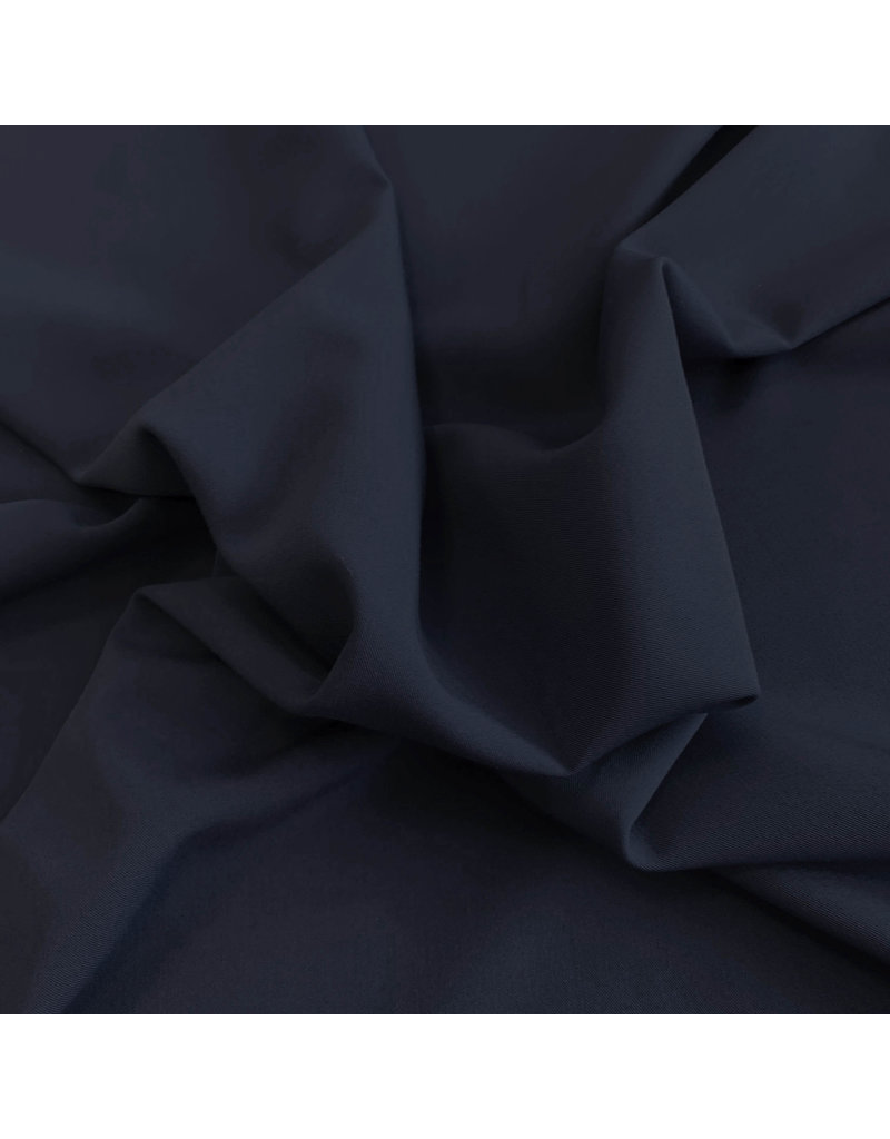 Gabardine Terlenka Stretch T47 - bleu nuit