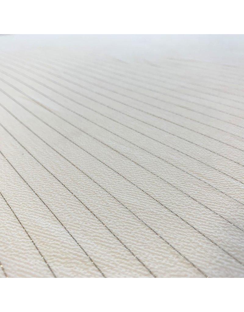 Embossed Chiffon Stripe 3086