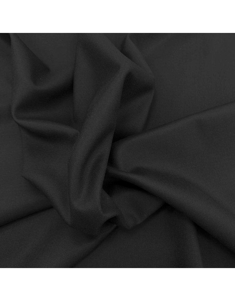 Bambus Gabardine Stretch - schwarz
