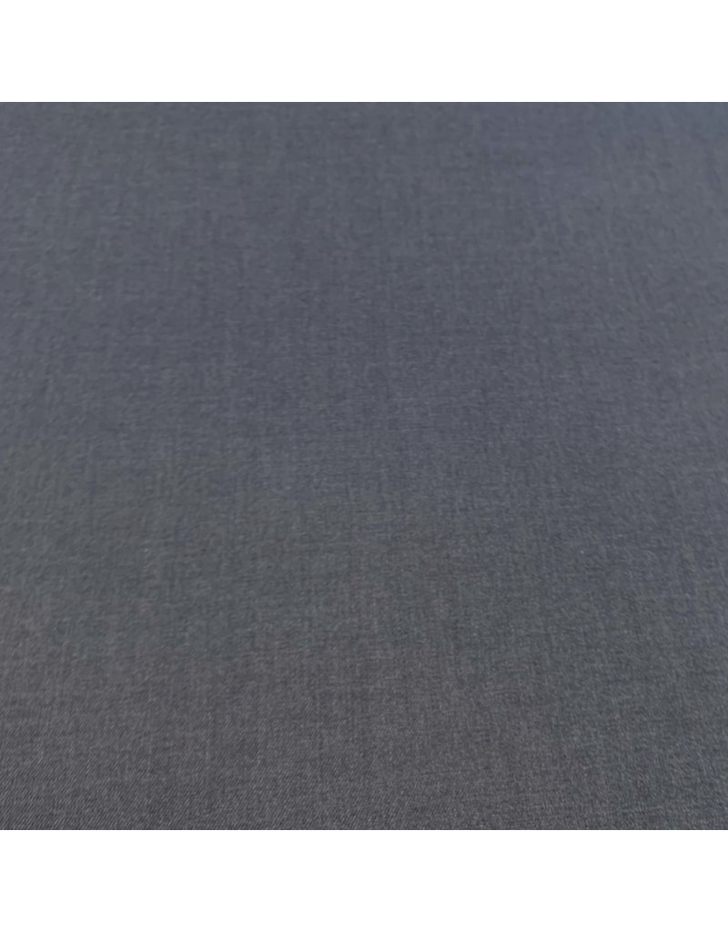 Bamboe Gabardine Stretch BC03 - jeansblauw
