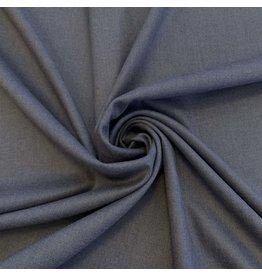 Bamboe Gabardine Stretch BC03 - jeansblauw melange