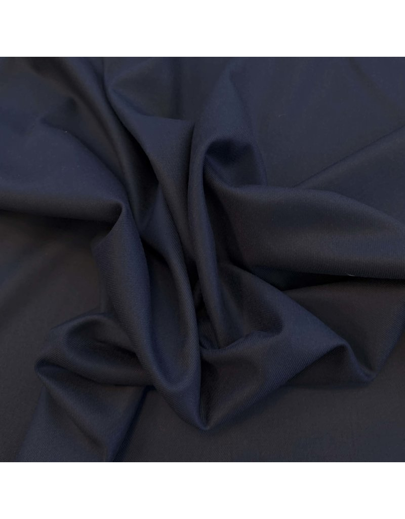 Bamboe Gabardine Stretch BC04 - donkerblauw