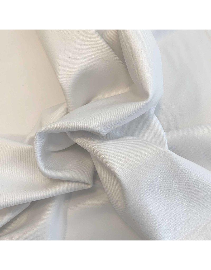 Gabardine Bamboo Stretch BC10 - blanc