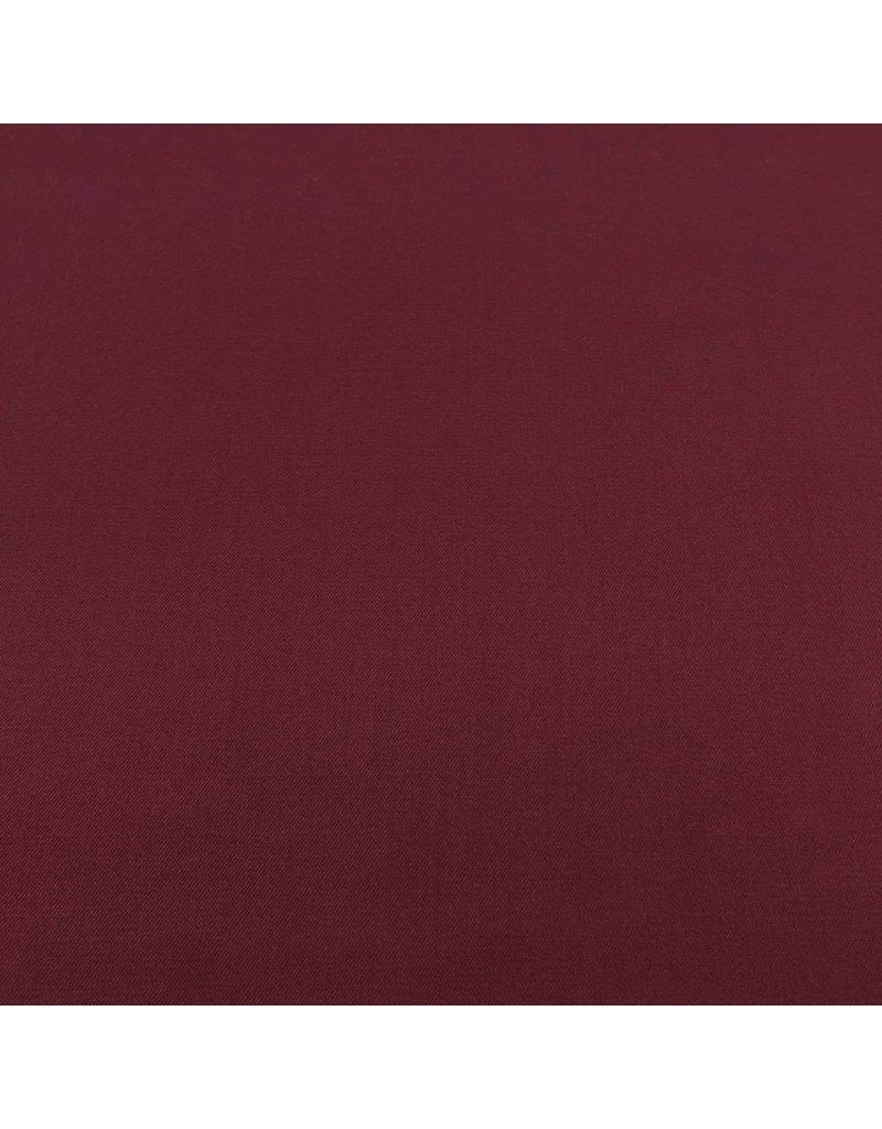 Bamboo Gabardine Stretch BC11 - burgundy red
